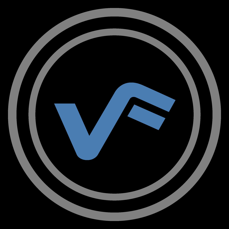 Virtual Forms Logo Metro Gray Blue - Excel Userform